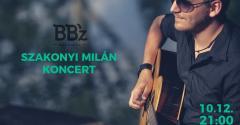 Szakonyi Milán koncert a BBz bárban