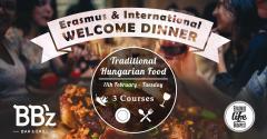 Erasmus & International Welcome Dinner